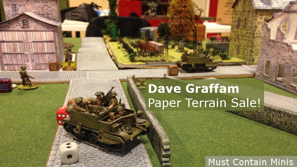 Sale: Dave Graffam Models – Paper Terrain