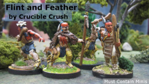 Flint and Feather Miniatures by Crucible Crush Spotlight