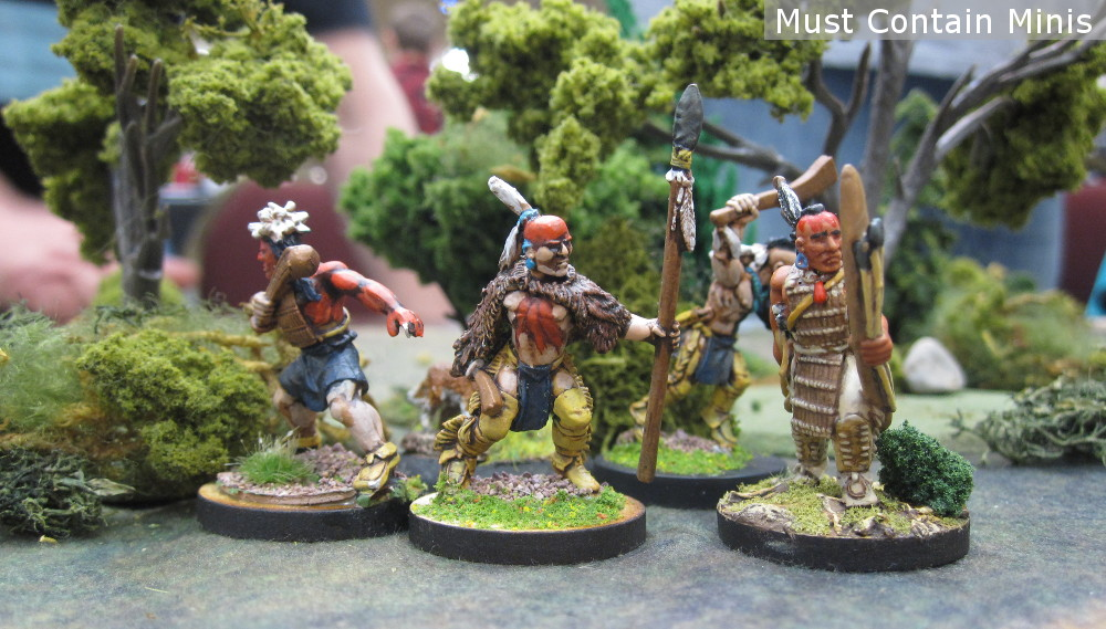 Flint and Feather Native American Miniatures and Battle Report