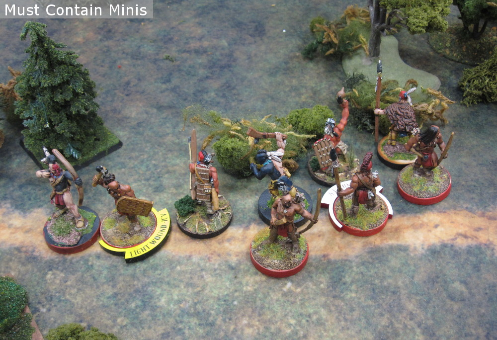 Flint and Feather Huron vs Iroquois Battle Report