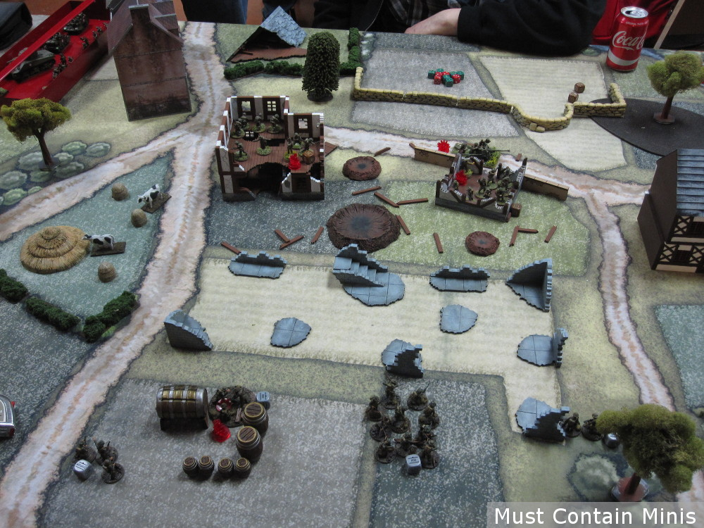 Manhunt Battle Report - Bolt Action by Osprey Games