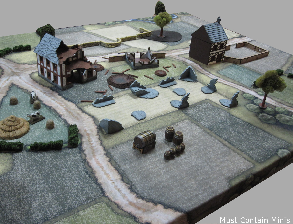 Bolt Action Demo Game Table