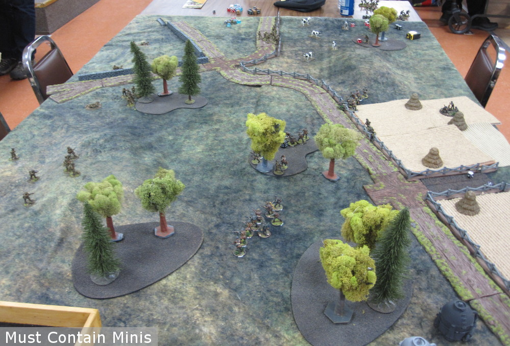 Market Garden Bolt Action Battle - American vs German