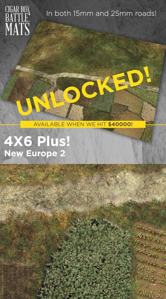 New Europe Gaming Mat
