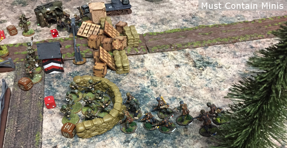 Bolt Action Sea Lion Battle Report