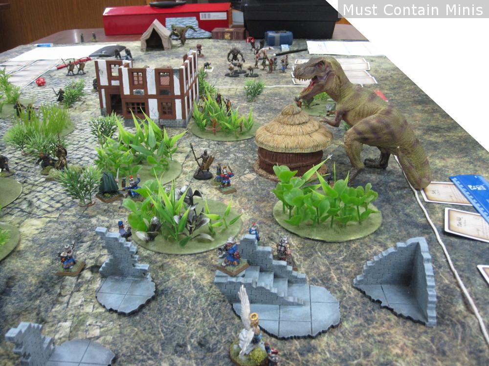 Dinosaur in Ghost Archipelago Demo