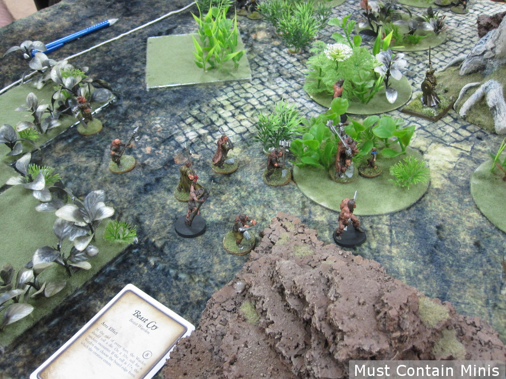 Barbarians in Ghost Archipelago Monster Hunt AAR