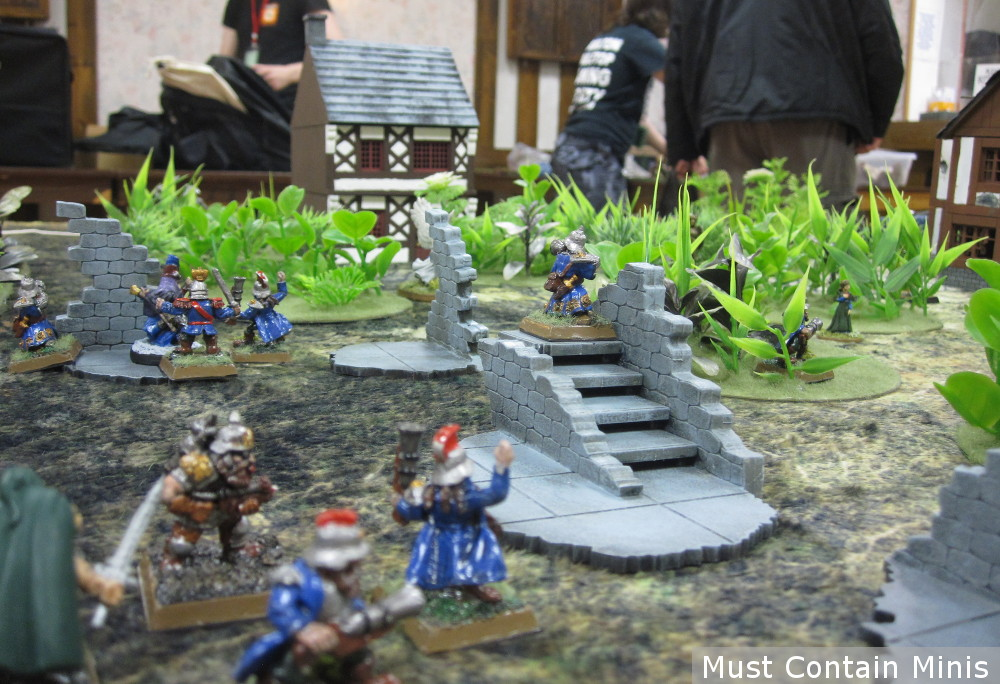 Frostgrave Dwarfs in Ghost Archipelago - minis by RAFM