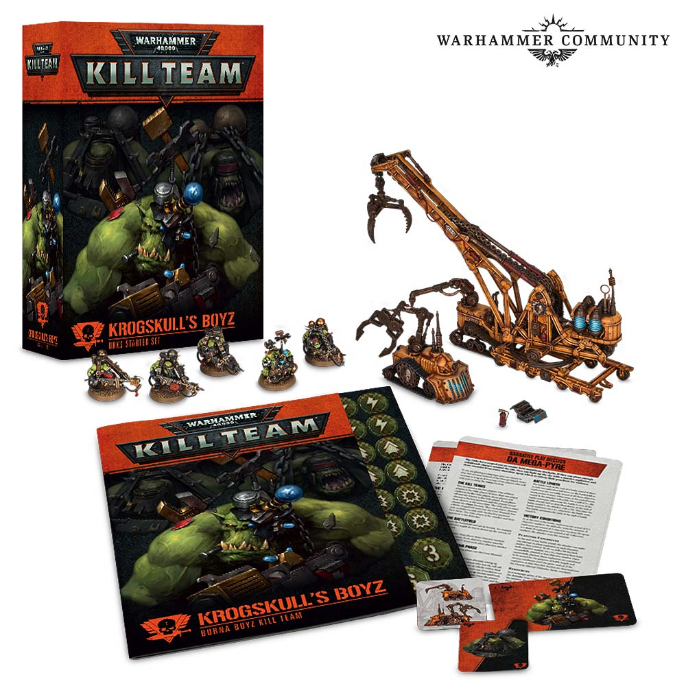 Orc Starter Set for Warhammer 40,000 Kill Team