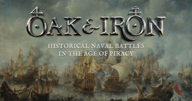 Oak & Iron Naval Miniature Game Preview - Forelock Games