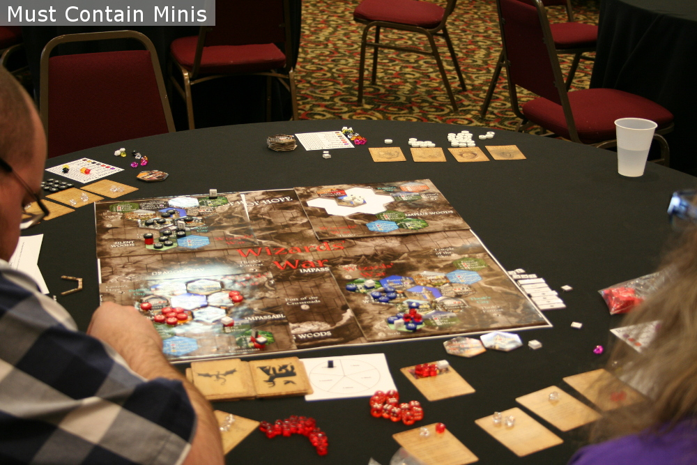 Board Games at SkyCon - Kitchener, Ontario, Canada Gaming Convention