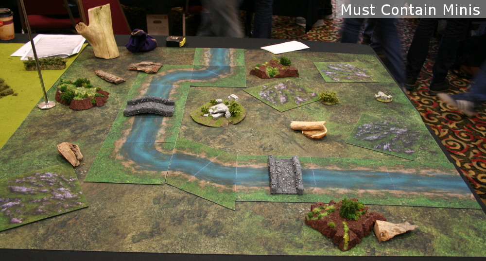 Hobbit Battle Table - Neoprene terrain