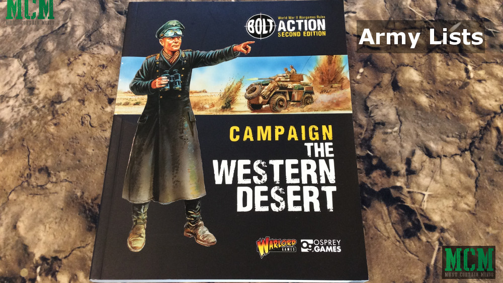 Army Lists of Bolt Action: The Western Desert