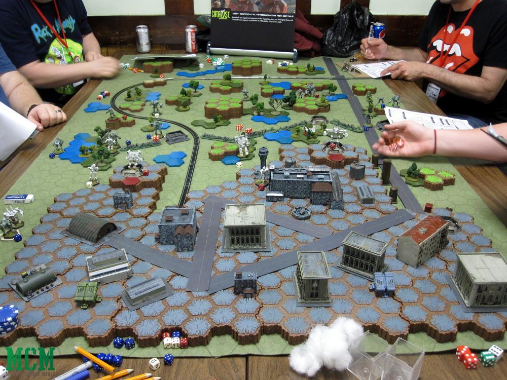 Large BattleTech Game