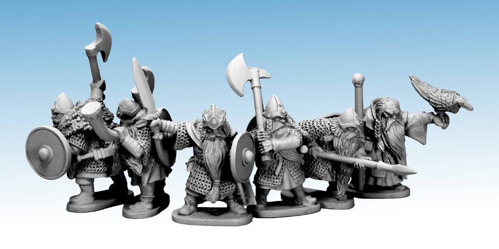Oathmark Dwarf Heroes