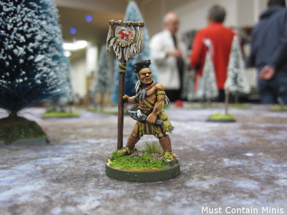 Native American Miniature