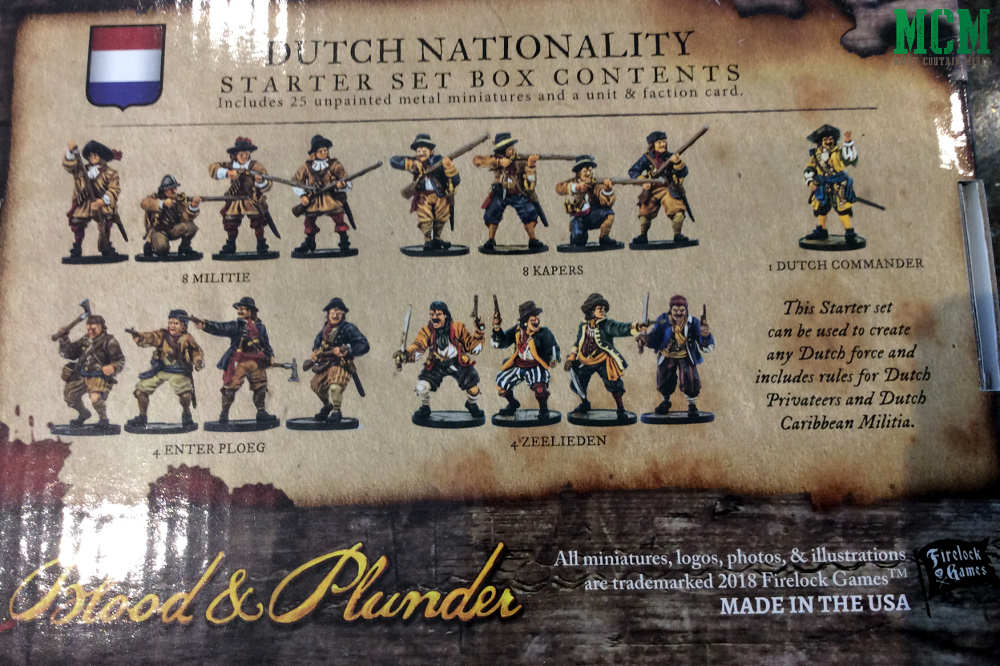 Dutch Blood & Plunder Miniatures Box Art