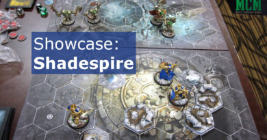 Shadspire showcase of painted miniatures