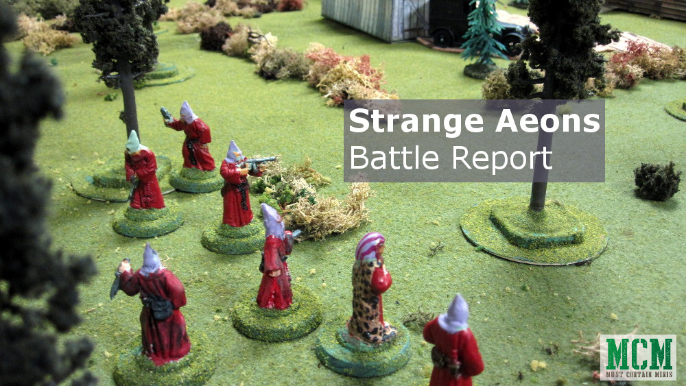 Strange Aeons Battle Report