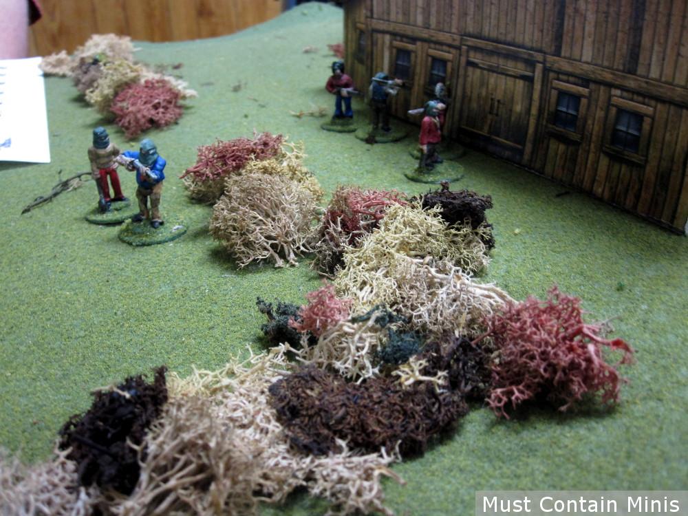 Mutated cultist Miniatures in a Battle Report