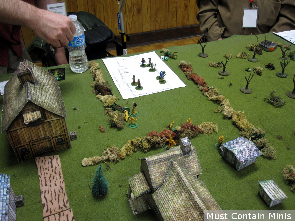 Cthulhu Cultist Battle - Strange Aeons AAR - After Action Report