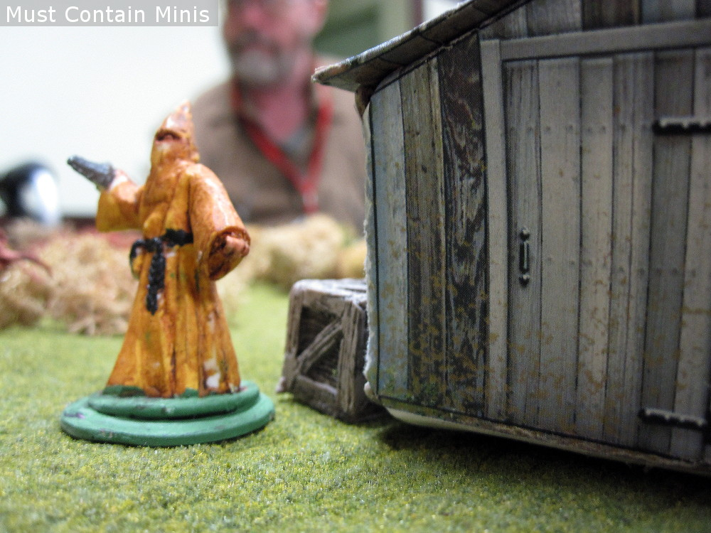 Paper Terrain in Miniature Wargaming