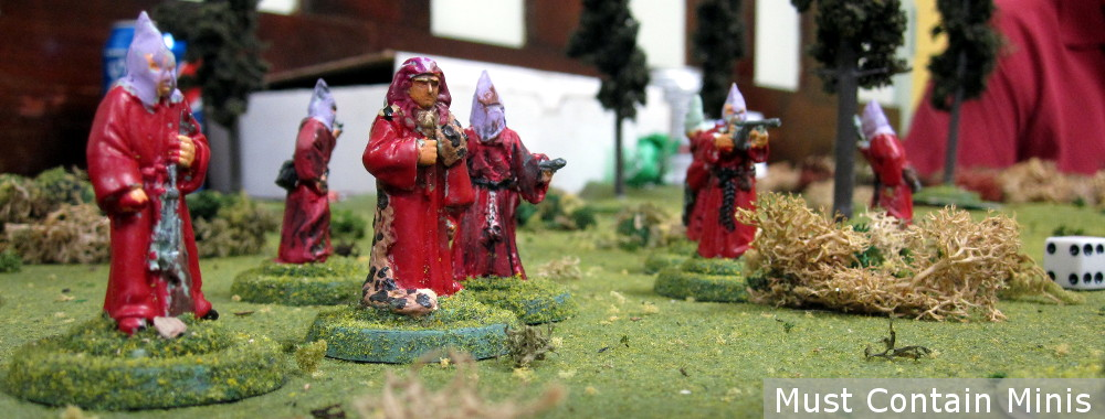 Cultists in a Strange Aeons Battle Report