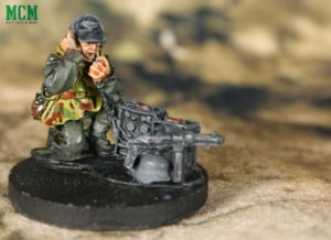 German Forward Observer with a Radio for Bolt Action Minaitures by Warlord Games