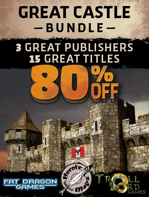 Great Castle Bundle DriveThruRPG Sale