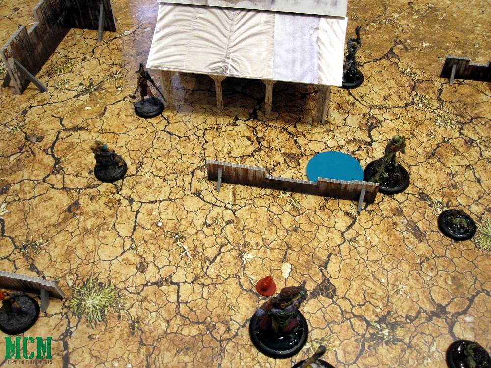 Dark Lands Demo Battle Report at a Convention