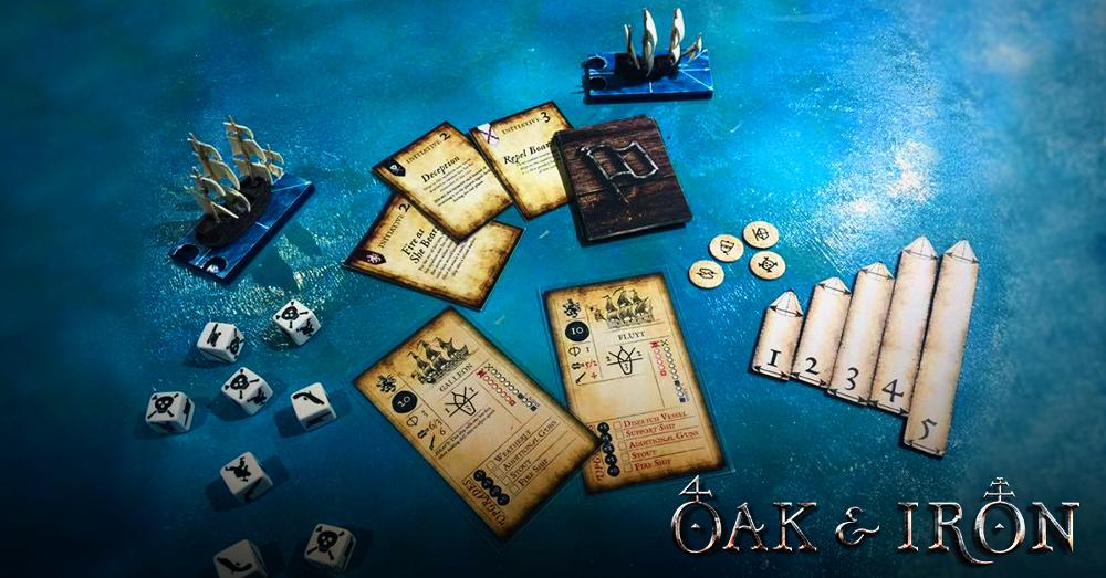 Oak & Iron Game Components - Pre-prototype preview of Oak & Iron by Firelock Games - Kickstarter