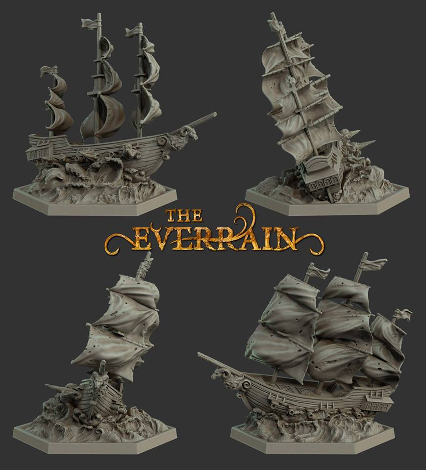 Everrain Ships