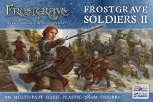 Nickstarter for Fantastic Female Soldier Miniatures – Frostgrave