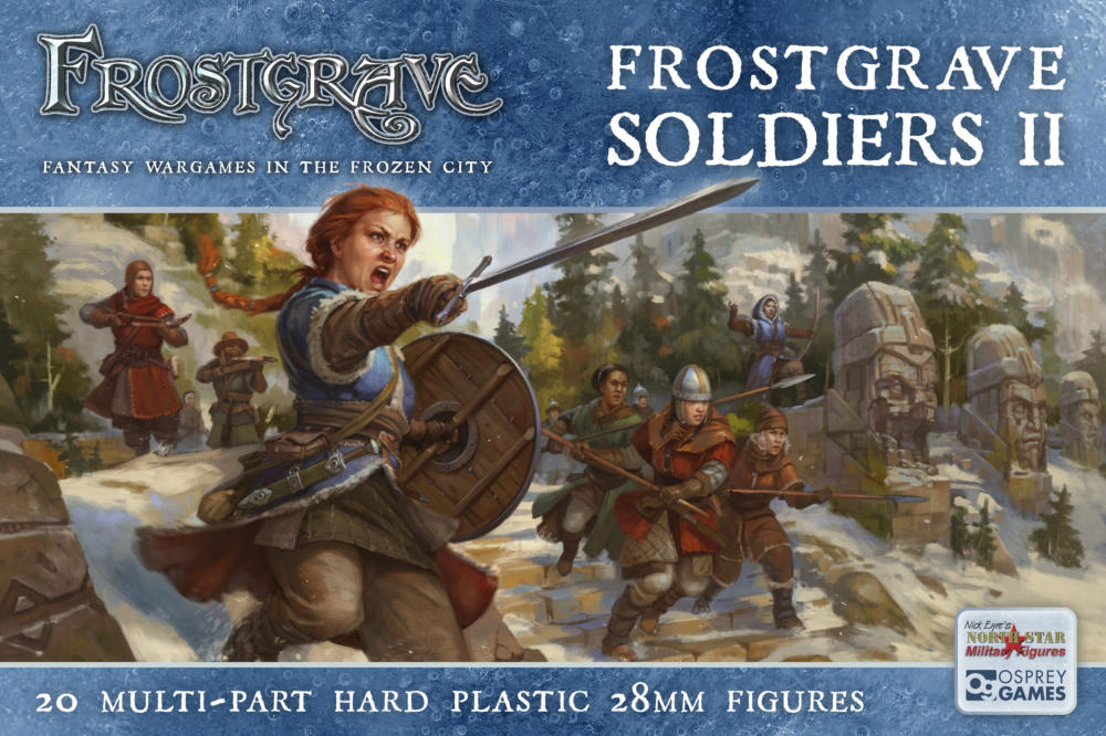 Nickstarter for Fantastic Female Soldier Miniatures – Frostgrave
