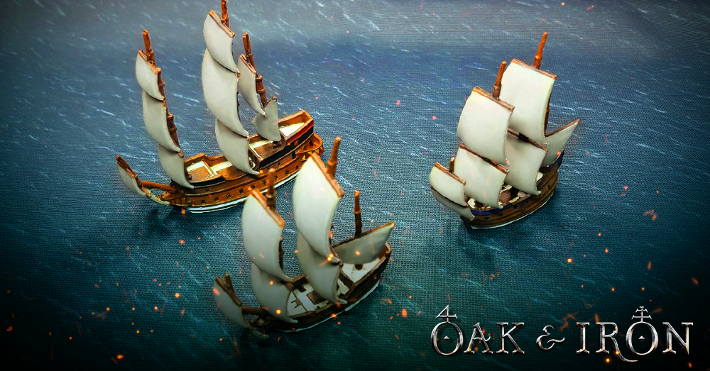 Preview image of Oak and Iron ships - Kickstarter by Firelock Games