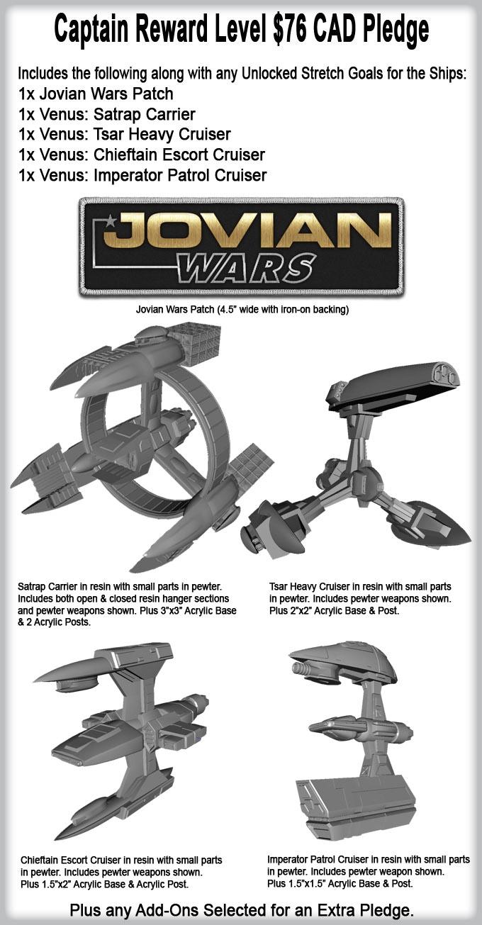 Jovian Wars Venus low pledge level.