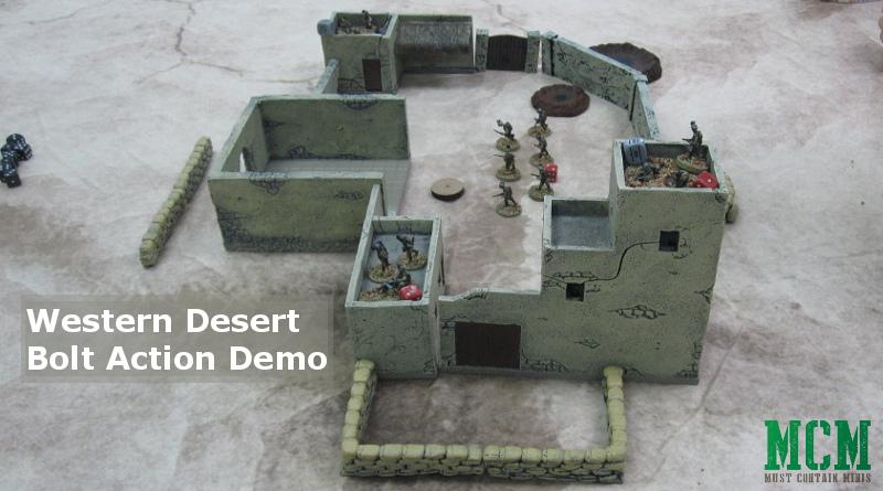Bolt Action Western Desert Demo