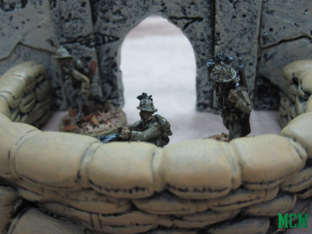 Sandbag Terrain in Bolt Action by Six Squared Studios
