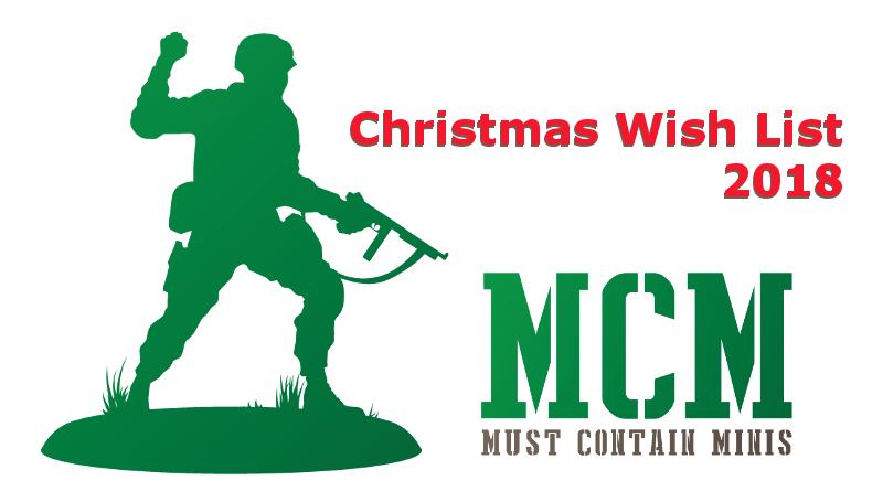 Christmas Wish List 2018