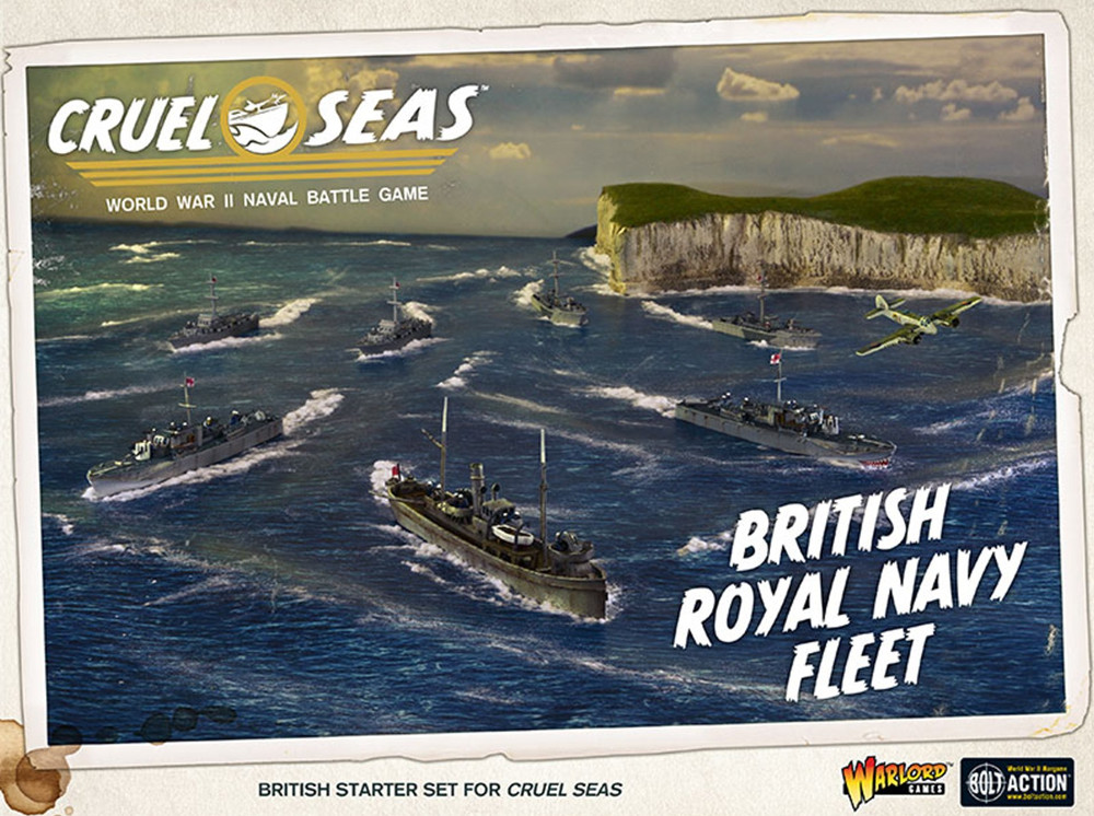 Cruel Seas British Navy Starter Set