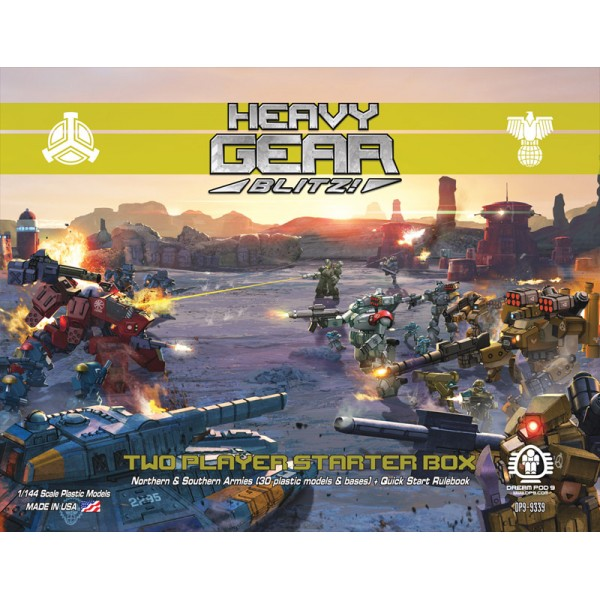 Heavy Gear Miniatures Game