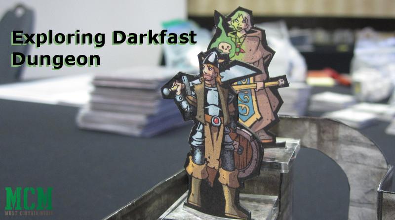 Darkfast Dungeons Paper Miniatures Battle Report