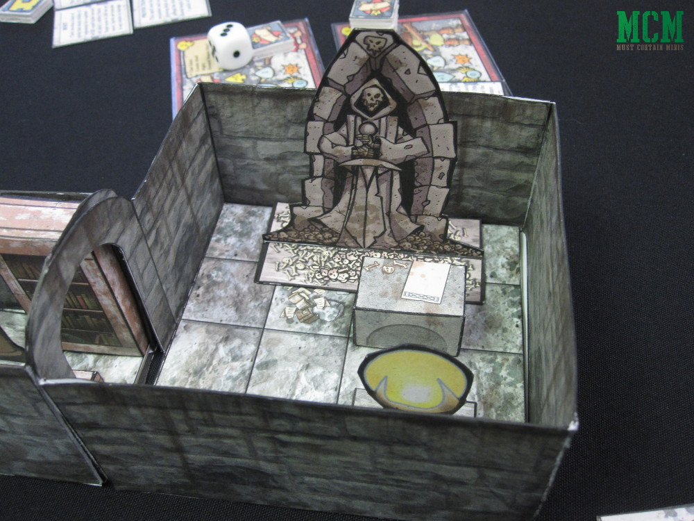 Paper craft Dungeons and Dragons or Dungeon Crawl Dungeon