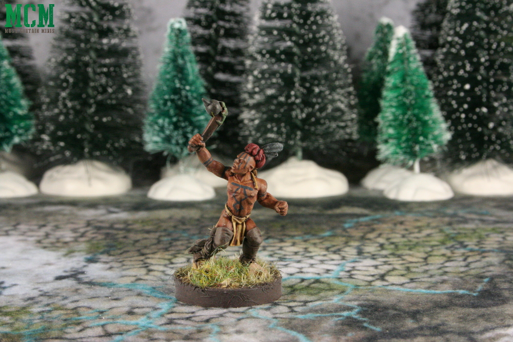 Huron Warrior Miniature by Crucible Crush
