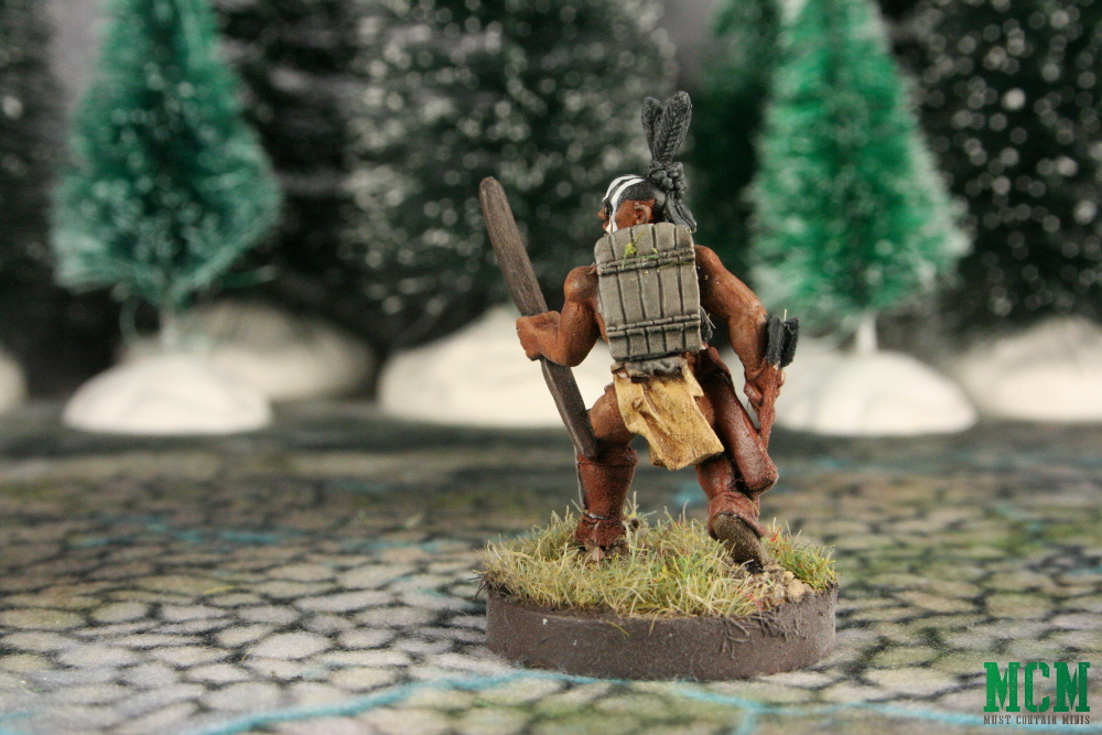 Native American Warrior Pre-Contact Miniature