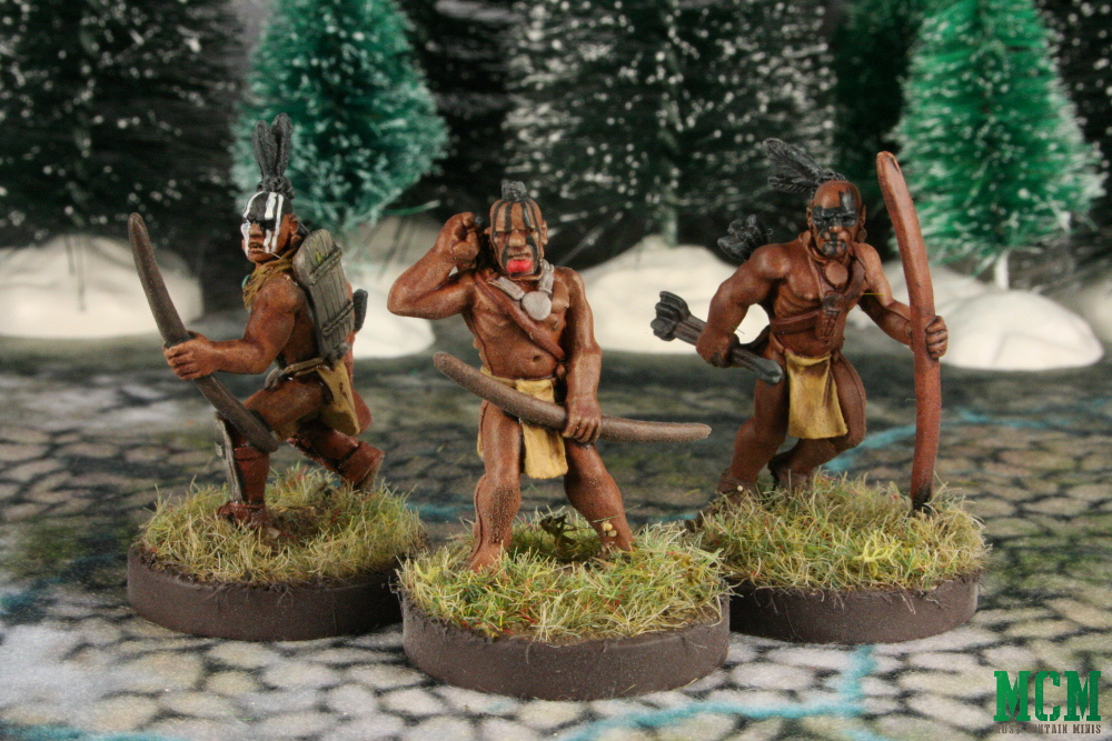 Native American Great Lakes Indian Miniatures 28mm