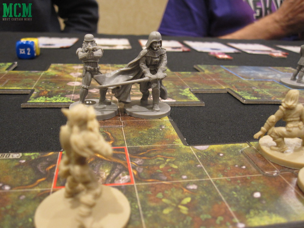 Darth Vader Miniatures Game Imperial Assault by Fantasy Flight Games play through