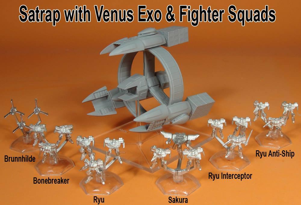 Jovian Wars Venus Carrier Fleet