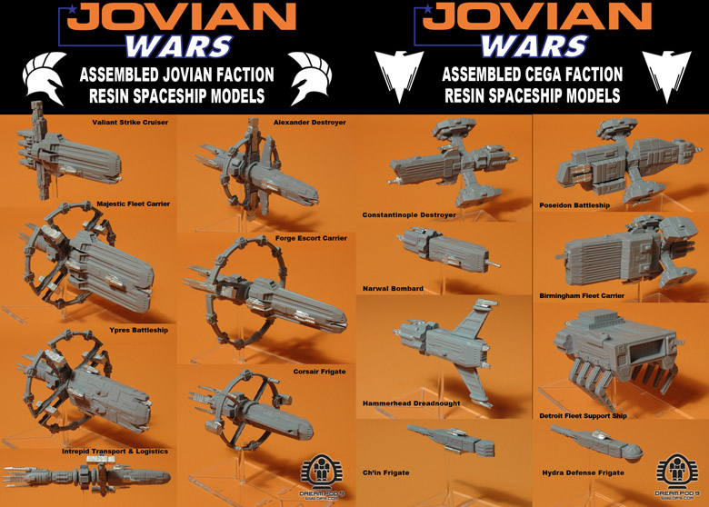 Jovian Wars Capital Ships