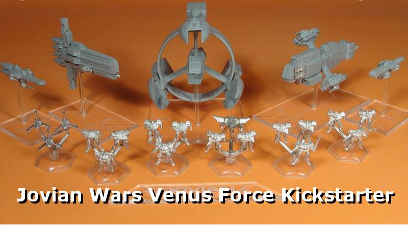 Jovian Wars Venus Force Kickstarter – Dream Pod 9